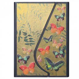 Notatbok Core A7 Linjert Magnetic Butterflies
