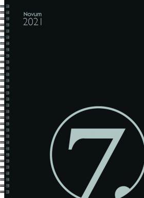 Avtalebok 2021 7.sans Novum Uke A4 Sort