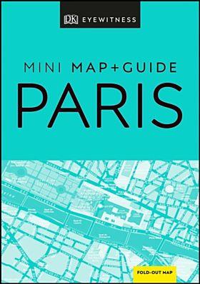 DK Eyewitness Paris Mini Map and Guide