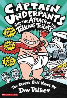Captain Underpants and the Attack of the Talking