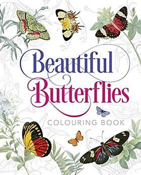 Beautiful Butterflies Colouring Book