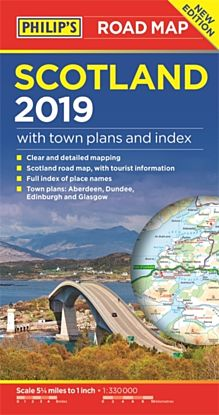 Philip's Scotland Road Map