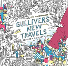 Gulliver's New Travels. Colouring in a new world