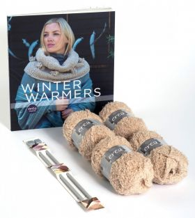 Winter warmers knitting kit