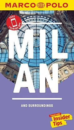 Milan Marco Polo Pocket Travel Guide - with pull out map