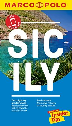 Sicily Marco Polo Pocket Travel Guide - with pull
