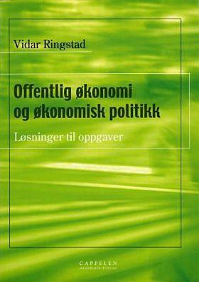 Offentlig økonomi og økonomisk politikk