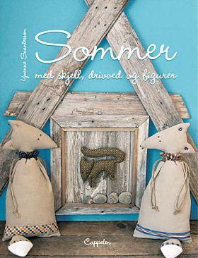 Sommer med skjell, drivved og figurer