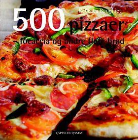 500 pizzaer, focaccia og andre flate brød