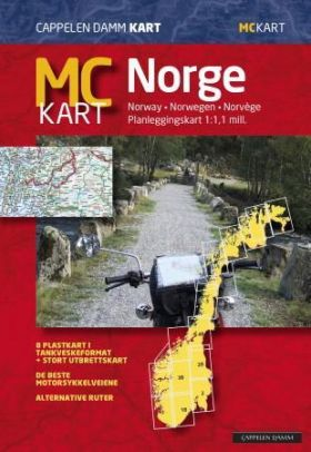 MC kart = MC-map Norway