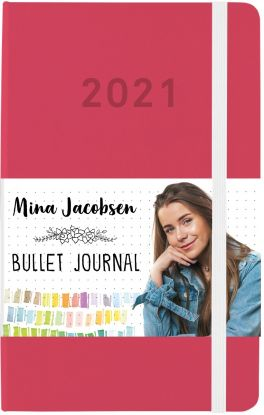 Mina Jacobsen. Bullet journal 2021 - SIGNERT v/nettbestilling