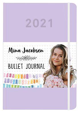 Mina Jacobsen. Bullet journal 2021 - SIGNERT ved hjemsending