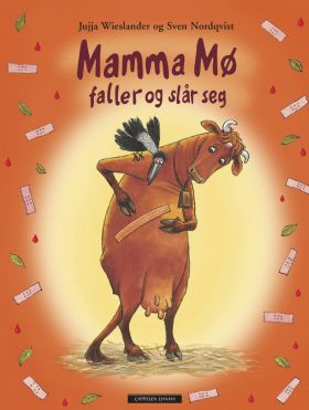 Mamma Mø faller og slår seg