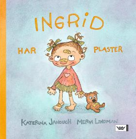 Ingrid har plaster