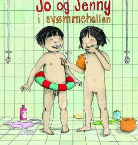 Jo og Jenny i svømmehallen