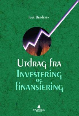 Utdrag fra Investering og finansiering