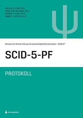SCID-5-PF samlepakke