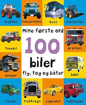 100 biler, fly, tog og båter