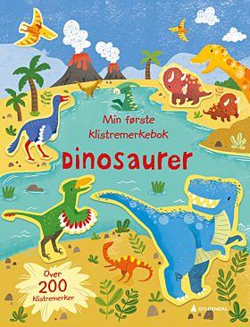 Dinosaurer. Min første klistremerkebok