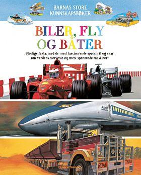 Biler, fly og båter