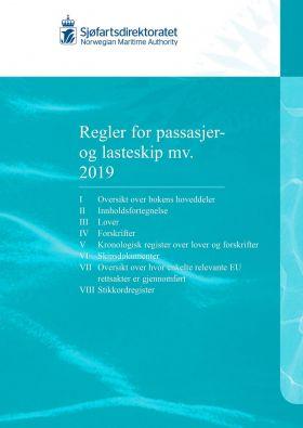 Regler for passasjer og lasteskip m.v. 2019