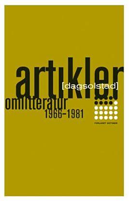 Artikler om litteratur 1966-1981