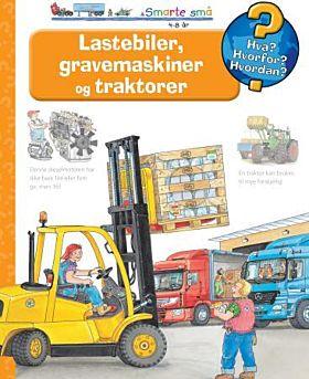Lastebiler, gravemaskiner og traktorer
