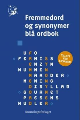 Fremmedord og synonymer blå ordbok