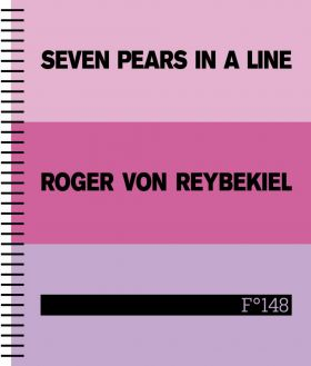 Seven pears in a line