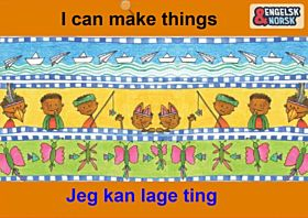Jeg kan lage ting = I can make things
