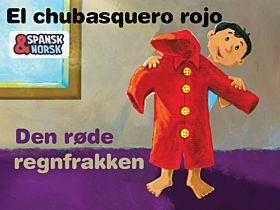 Den røde regnfrakken Spansk-norsk