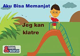 Jeg kan klatre dar-norsk