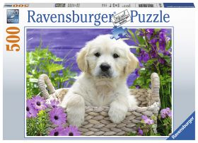 Puslespill 500 Golden Retriever Ravensburger