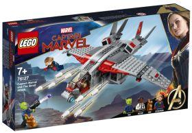 Lego Captain Marvel Og Skrull-Angrepet 76127 - KUN