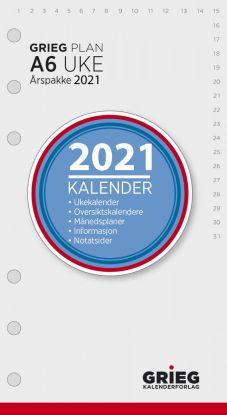 Årspakke 2021 Grieg Plan A6 Uke