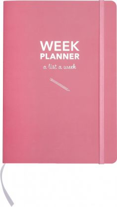 Kalender Udatert A5 Week Planner Uke