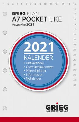 Årspakke 2021 Grieg Plan A7 Uke