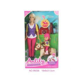 Anlily Dukke Med Kiki & Pony
