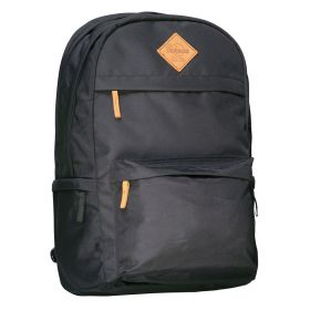 Skolesekk College Black 34L Beckmann