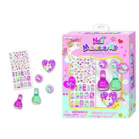 Hot Focus - Unicorn Nail Makover Kit m/80 Deler