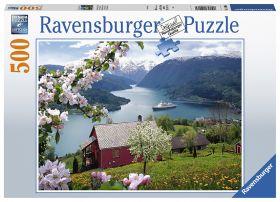 Puslespill 500 Scandinavian Idyll Ravensburger