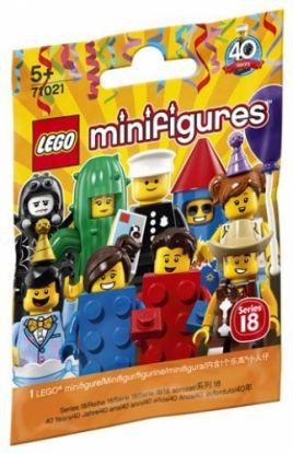 Lego Minifigur Serie 18 Fest 6213825