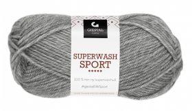 Garn Gjestal Superwash Sport 50g Grå