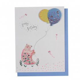 Systemkort PC Bear Balloons Happy Bday