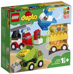 Lego Mine Første Bilmodeller 10886