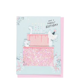 Systemkort PC Pop Up Cat Cake H Bday