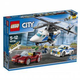 Lego Politijakt I Høy Hastighet 60138