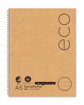 Spiralhefte Norli A5 70g 70bl linjer