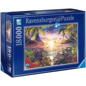 Puslespill 18000 Paradis Solnedgang Ravensburger