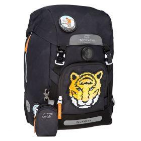 Skolesekk 1.kl Tiger Team 22L Beckmann